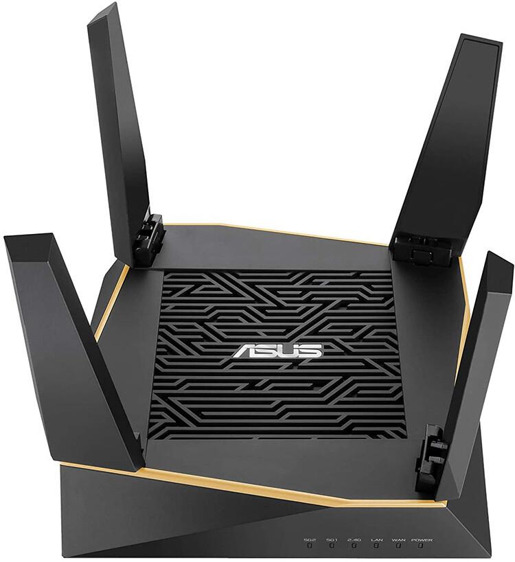 ASUS RT-AX92U Système WiFi 6 Ai Mesh AX6100 Tri-Bande Gigabit
