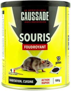 Avis CAUSSADE Casapt10 Souris Pat'Appât Foudroyant 10 Pâtes Très Appètent pour Petit Animal