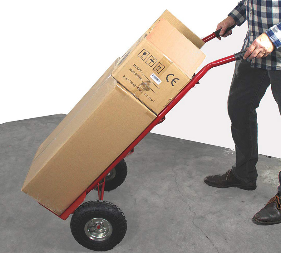 Avis Diable de transport économique avec roues pneumatiques - charge 200 kg