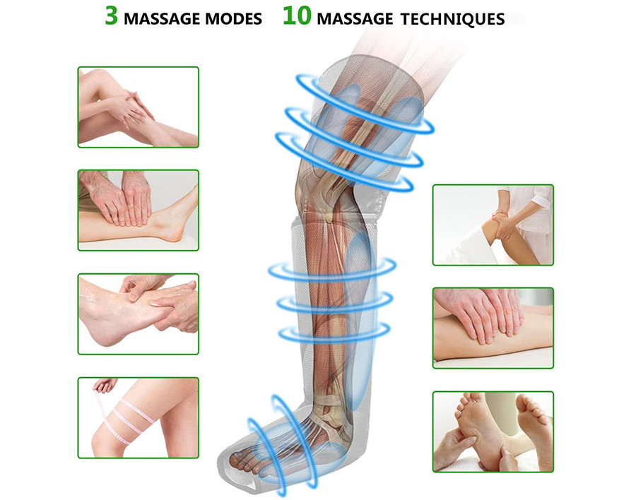Avis FIT KING Appareil de Massage pour Jambes et Pieds