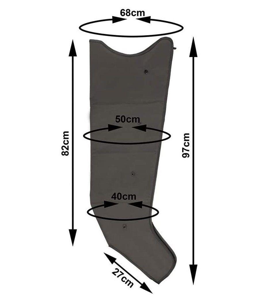 Avis MESIS appareil de massage PressoMassaggio Plus avec 2 jambières