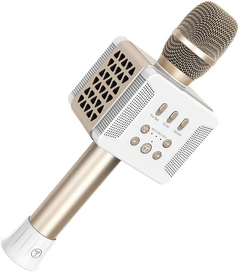 Avis TOSING 016 Microphones Karaoké sans fil Haut-parleur 20W Bluetooth Portable KTV