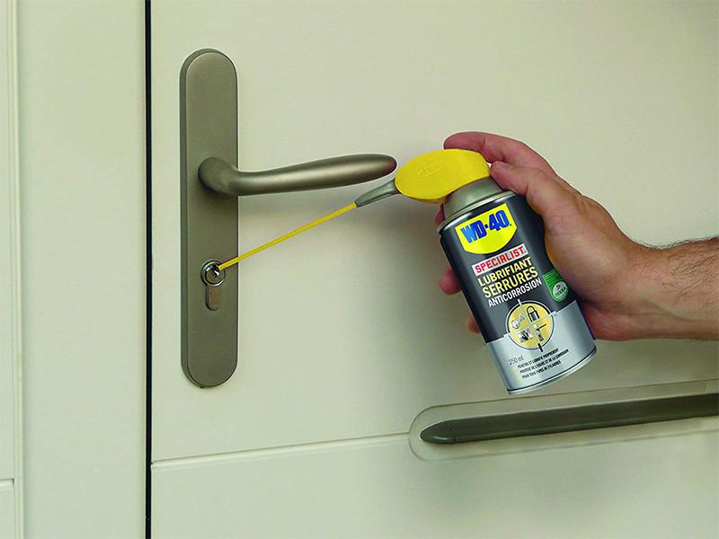 Avis - WD-40 Specialist • Lubrifiant Serrures • Spray Double Position • Anticorrosion • Débloque Instantanément • Sans Graisse ni Silicone • En Extérieur ou En Intérieur • 250 ML
