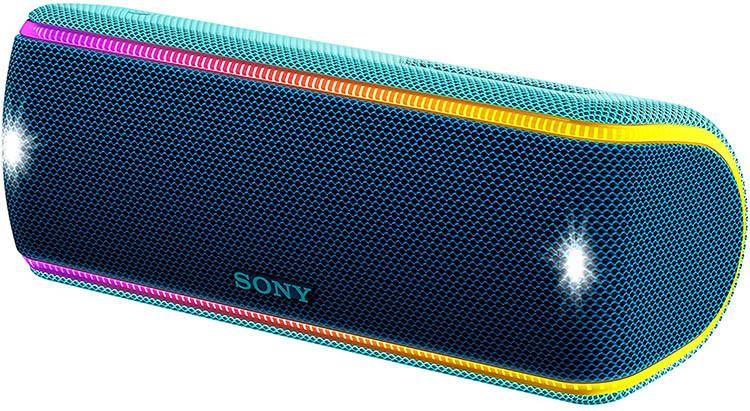 Avis de l'EnceinteBluetooth Waterproof Sony SRS-XB31 avec effet de lumières