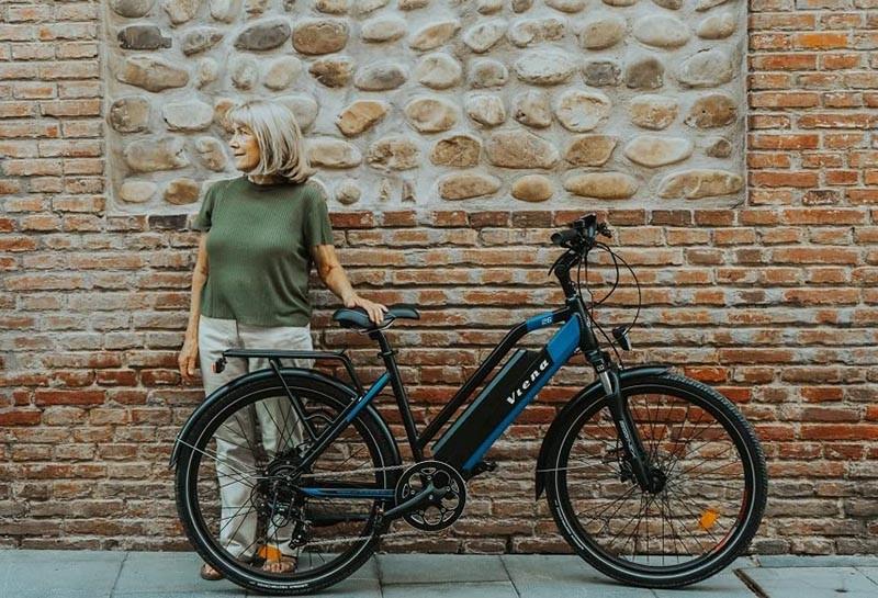 Avis sur le Vélo électrique VTC URBANBIKER VIENA