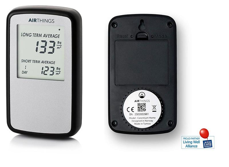 Corentium Home par AirThings - Detecteur de gas radon