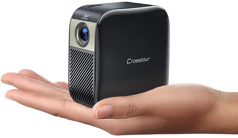 Crosstour Vidéoprojecteur Poche Portable DLP Full HD