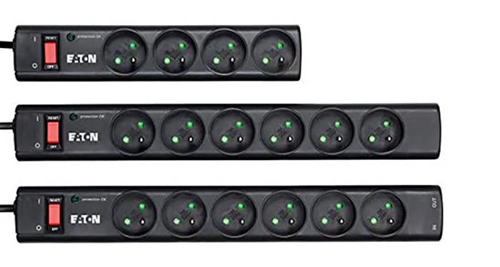 Eaton Multiprise Parafoudre - Eaton Protection Strip 4 FR - PS4F