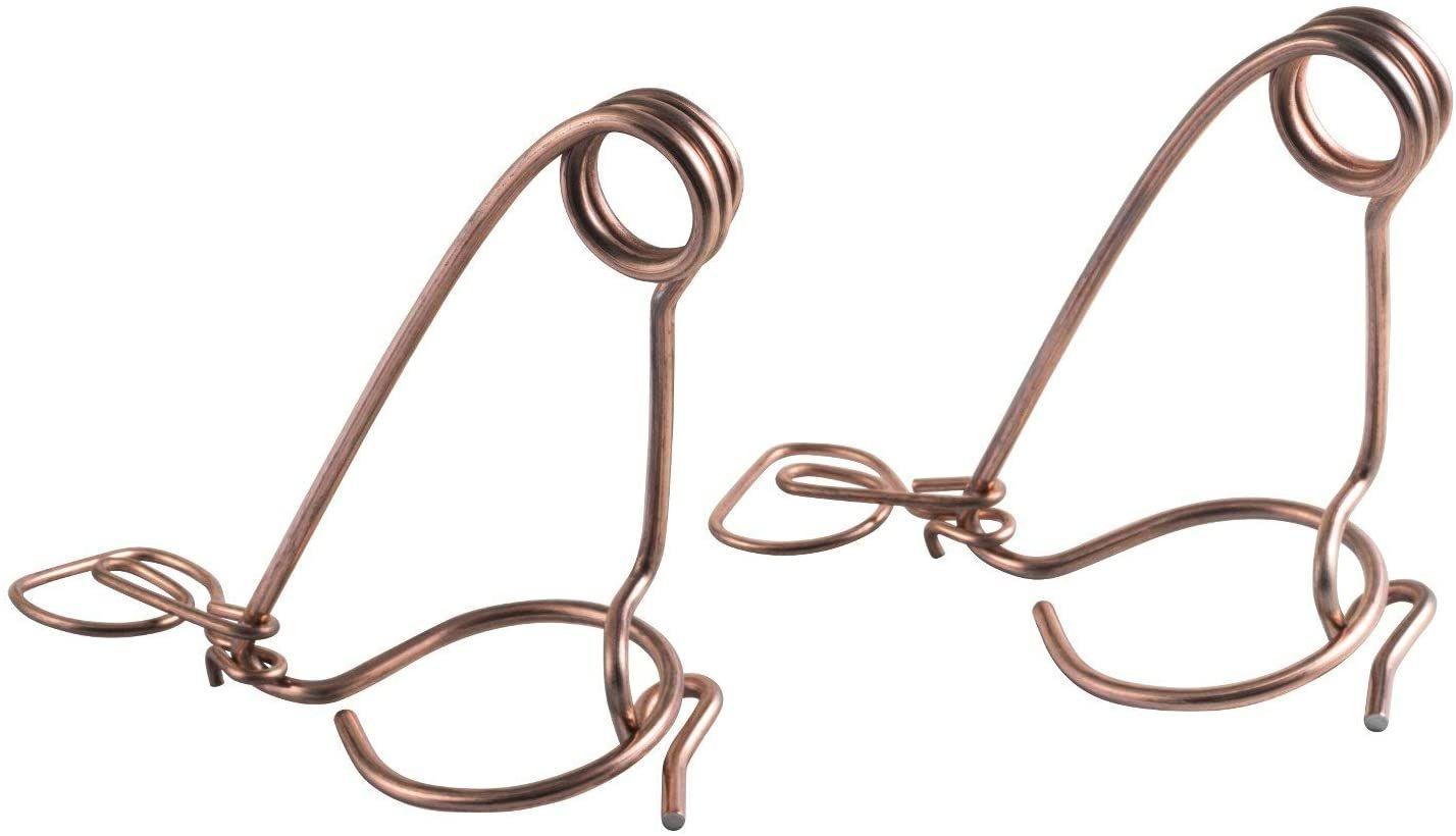 KA - Lot de 2 pièces à mulots en fil de fer