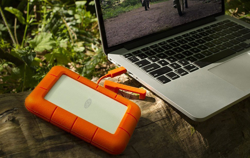LaCie Rugged Mini Disque dur externe portable