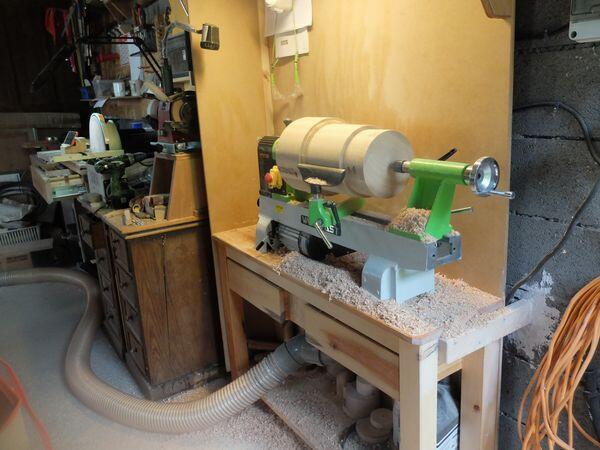 Les tours à bois d'atelier