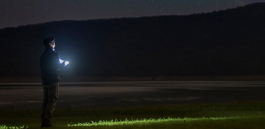MON Test Complet Stylo Lampe Olight OPEN 2