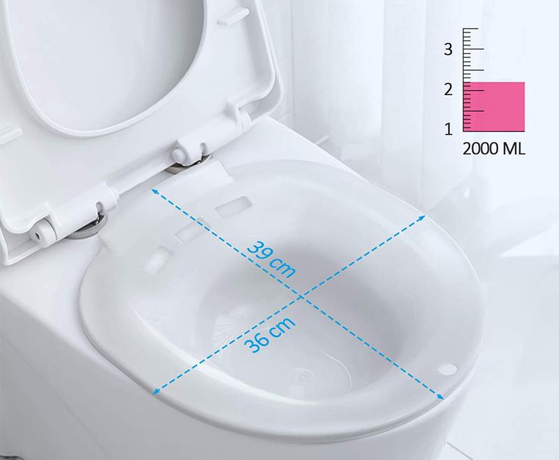 MitButy Bains de siège pour toilettes-bassin de bain Sitz portable