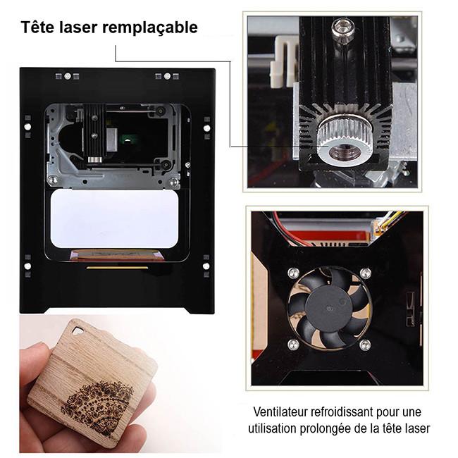 Qiilu-Gravure-Laser-DK-BL-1500mW-Mini-types-de-gravure-options