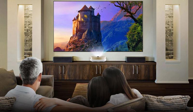 Qualité de l'image du du BenQ W1600 UST Vidéoprojecteur Full HD