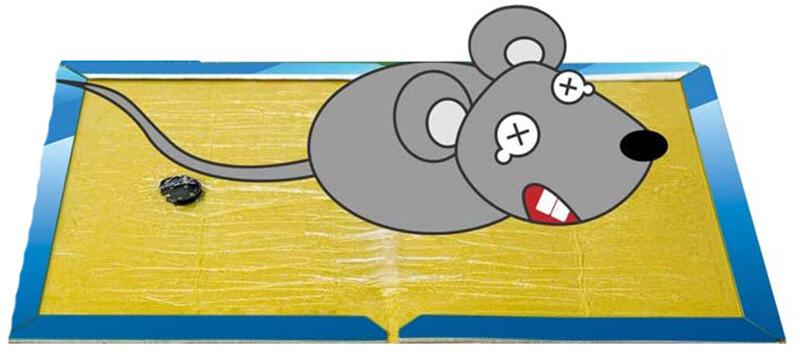 Qu'est-ce qu'un piège à glu pour rat