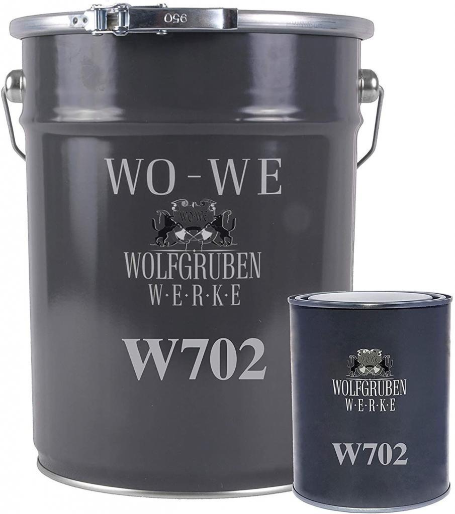 Résine époxy W702 peinture sol revêtement garage industriel beton Gris silex - 2,5Kg