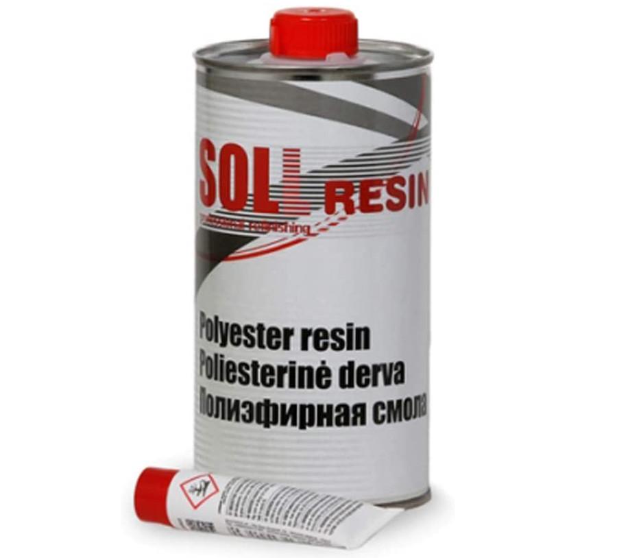 SOLL Résine polyester pour fibre de verre avec durcisseur