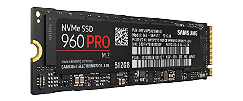 Samsung SSD Interne 960 PRO (512 Go) - MZ-V6P512BW