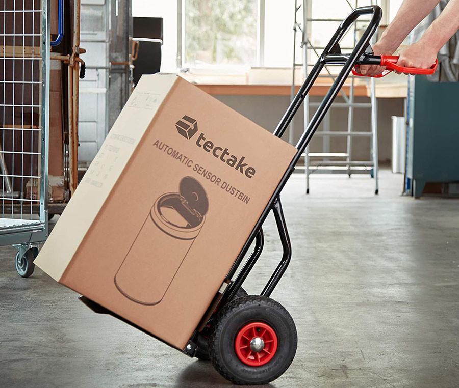 TecTake Chariot de Transport, Diable de Manutention Charge 100 Kg