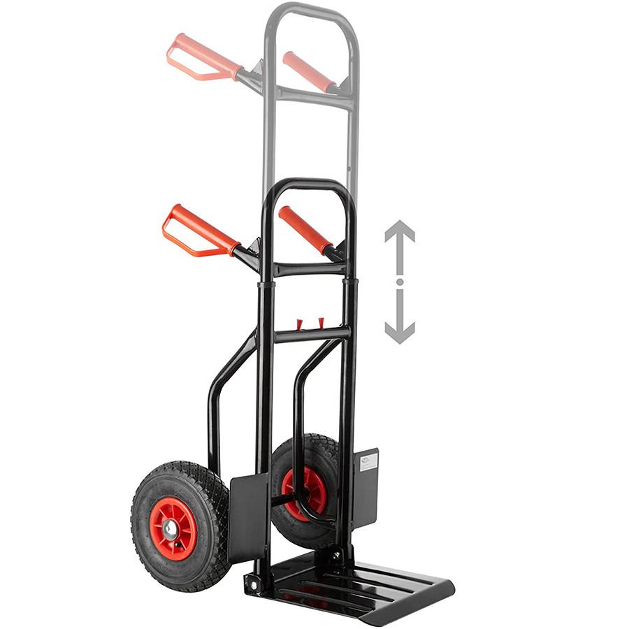TecTake Chariot de Transport Diable de Manutention Charge 100 Kg