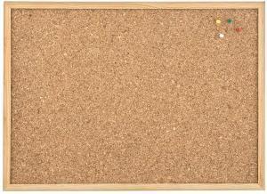 Test - 5 Etoiles Tableau en liège avec encadrement en pin