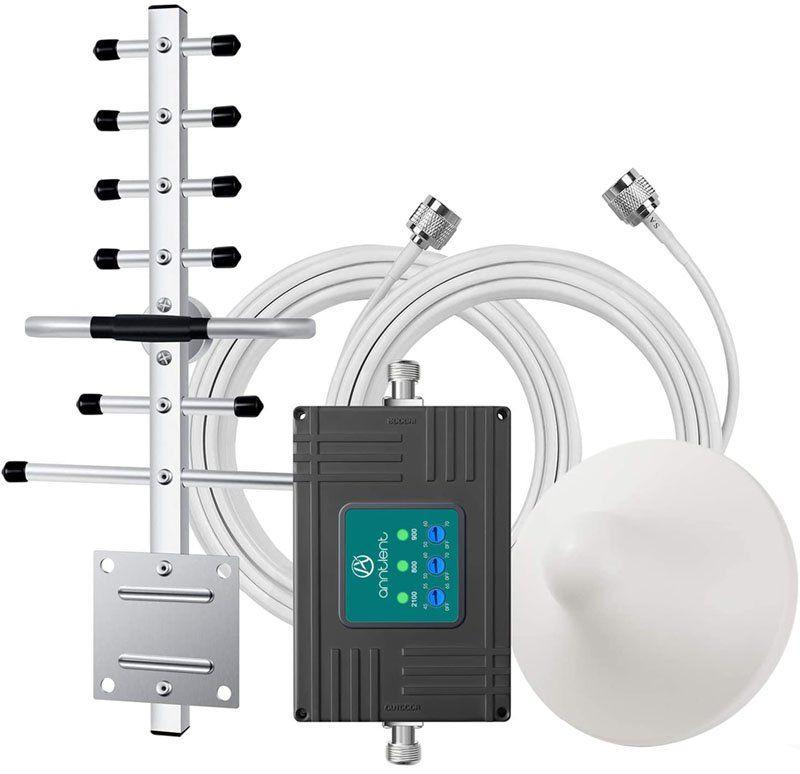Test - ANNTLENT Amplificateur de Signal Téléphone Portable Booster de Signal 4G