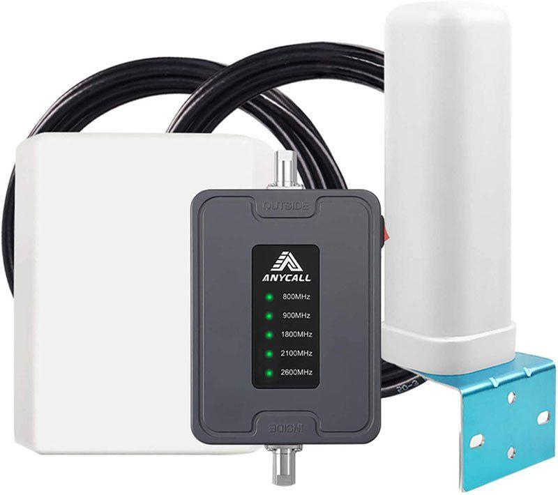 Test - ANYCALL Amplificateur de Signal 4G GSM LTE Répéteur Booster de Signal Réseau Mobile