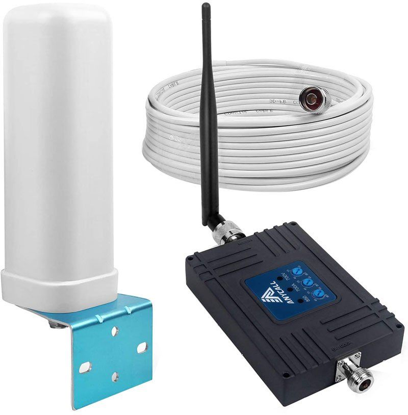 Test - ANYCALL Tri-Bande Booster Signal Mobile, 4G Kit Amplificateur de Signal GSM WCDMA LTE
