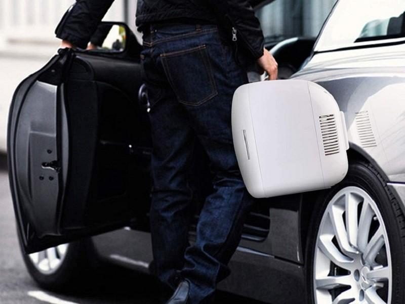 Test - AstroAI Mini Frigo de Chambre, Mini Réfrigérateur Voiture Portatif 9L 12V220V