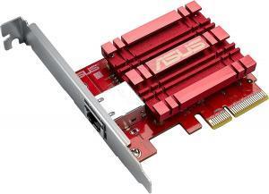Test - Asus Xg-c100c Carte Réseau Pci Express et hernet 10 Gigabit Pour Des Transferts de Données Jusqu'à 10 Fois Plus Rapide , Rouge