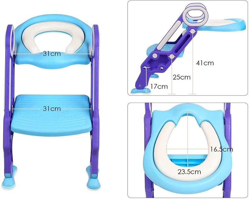Test BAMNY Siège de Toilette Enfant Pliable et Réglable