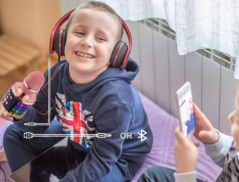 Test BONAOK Microphone Sans Fil, Microphone Karaoké Enfant