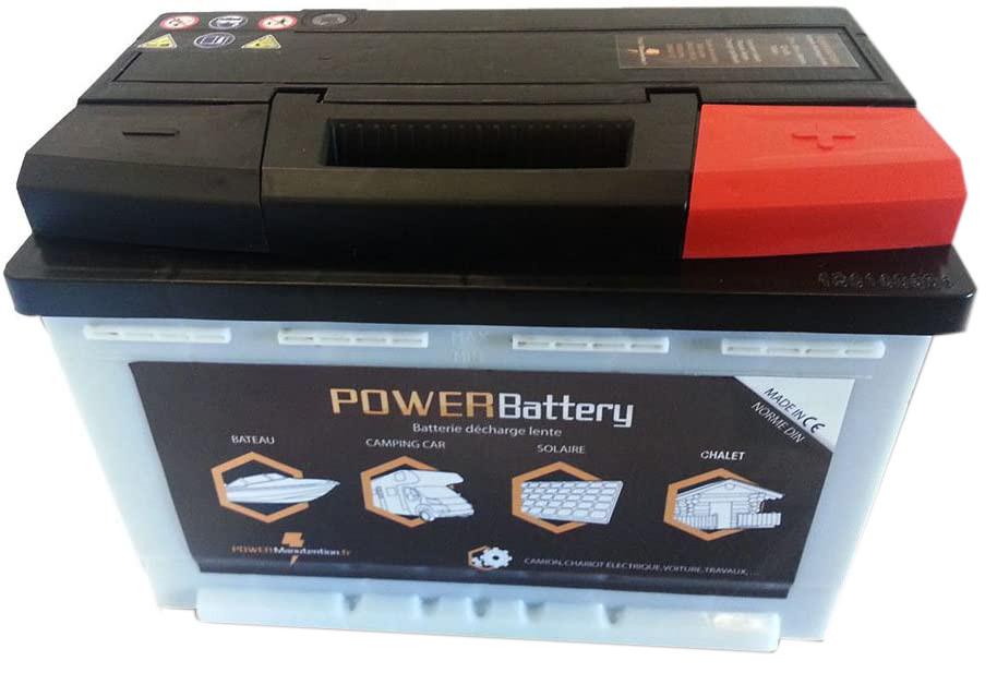Test - Batterie décharge lente camping car bateau 12v 100ah