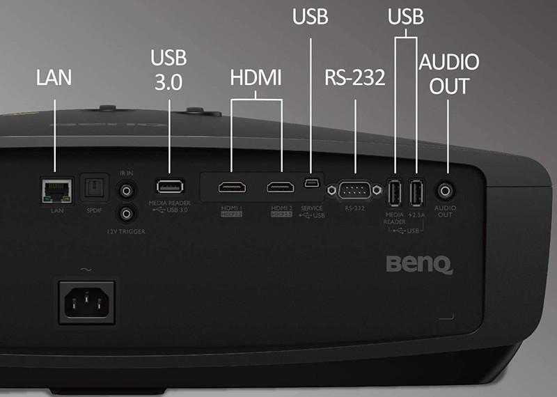 Test BenQ CinePrime W5700 - Projecteur DLP