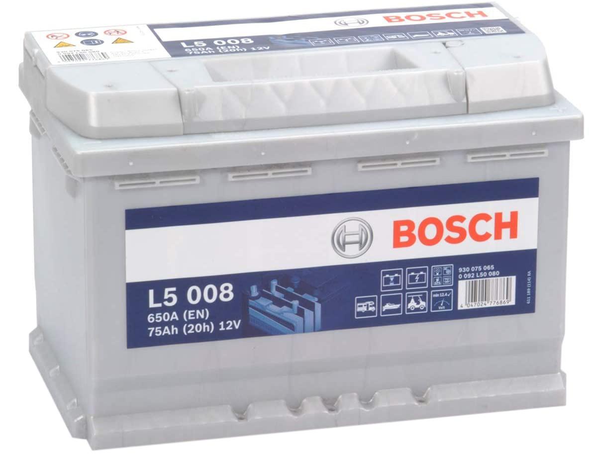 Test - Bosch L5008 Batterie décharge lente 12V, 75 Ah, 650A - Loisirs, Camping-Cars, Bateaux, …