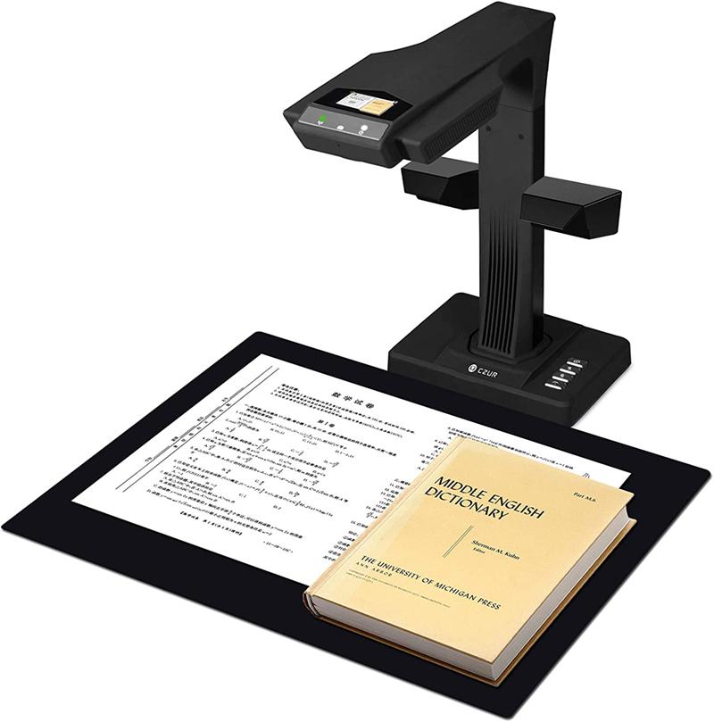 Test - CZUR ET18-P Premium, Scanner de Livres avec Fonction OCR