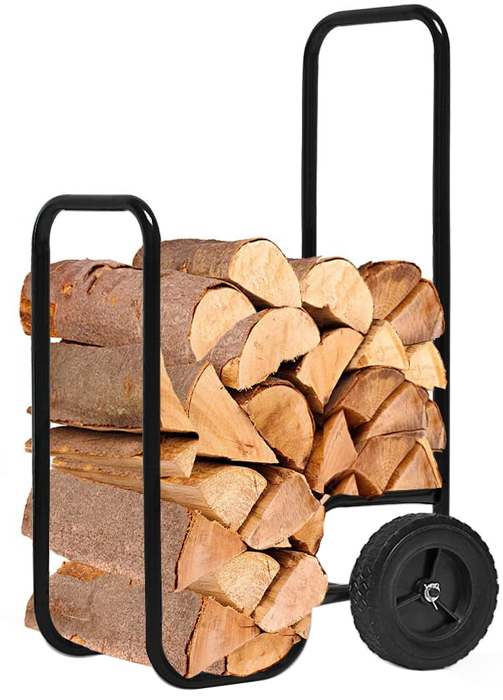 Test - Chariot à Bois Charge maximale 80kg