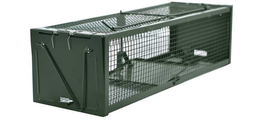 Test DSNOW Pièges à Rats Piège de Capture - Deux Entrées - Cage Piege pour Souris Rongeurs Mulots