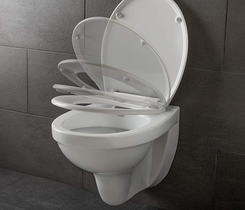 Test Dombach- Abattant pour wc