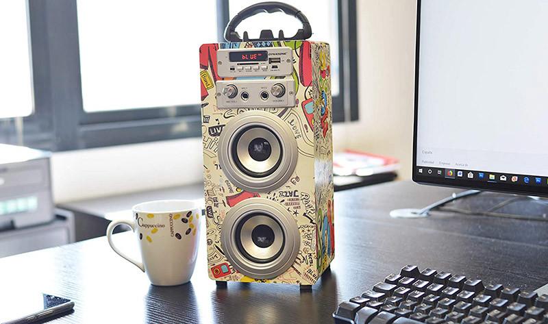 Test Dynasonic - Enceinte Bluetooth Portable karaoké hautparleur - Modèle 025-2