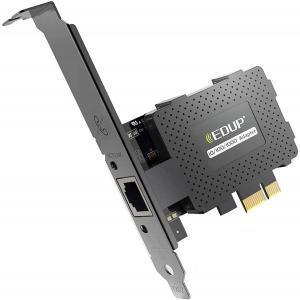 Test - EDUP Carte réseau Gigabit Ethernet PCI Express PCI-E 10