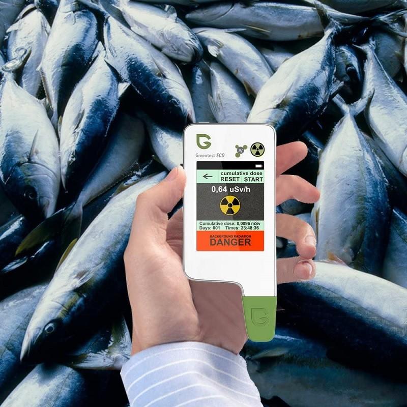 Test - GREENEST ECO 5 NOUVEAU! Aliments de haute précision, viande, testeur de nitrate de poisson, TDS de l'eau, détecteur de rayonnement