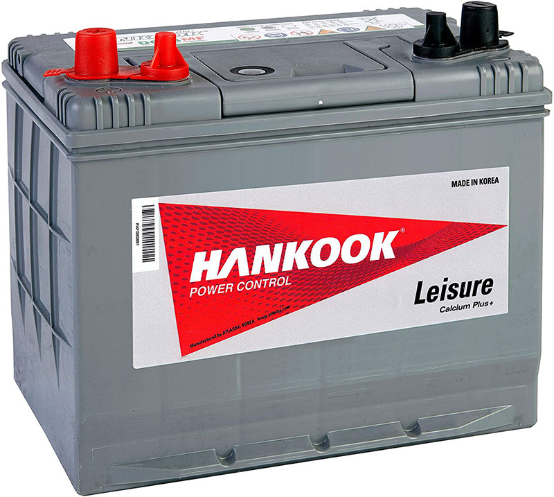 Test - Hankook Batterie 80Ah Profonde Cycle Loisirs - DC24MF - 4 Ans de Garantie