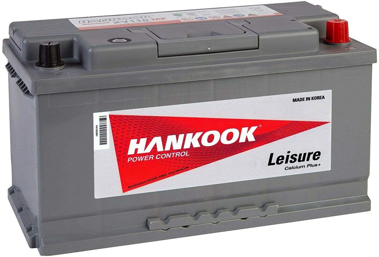 Test - Hankook XV110 12V 110Ah Batterie Décharge Lente Pour Loisir, Caravane, Camping Car, Bateau - 354x174x190mm