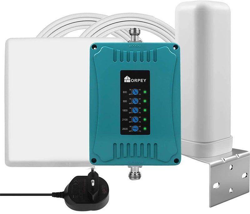 Test - ORPEY Amplificateur de Signal GSM 4G 3G 2G à 5 Bandes