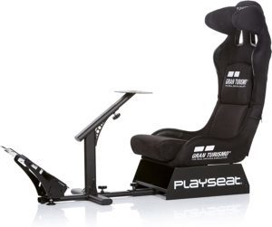 Test - PLAYSEAT - REG.00060 - Playseat® GRAN TURISMO - Siège simulation de course - 130 x 50 x 98 cm - Noir