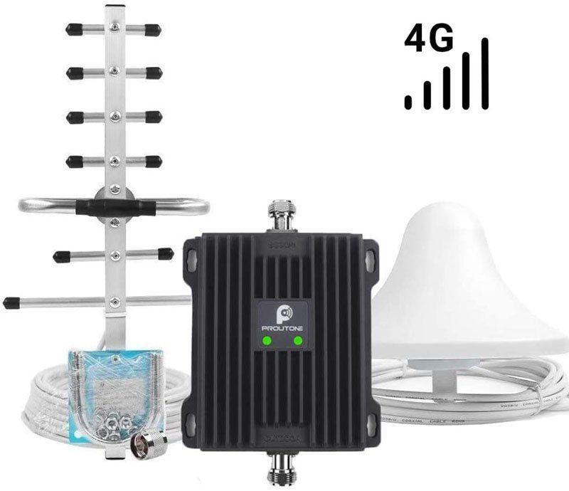 Test - PROUTONE Amplificateur de Signal LTE 4G 800MHz Bande 20 Bande 7