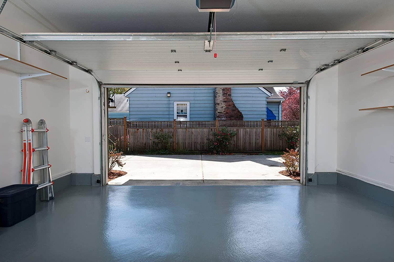 Test Résine époxy W702 peinture sol revêtement garage industriel beton Gris silex - 2,5Kg