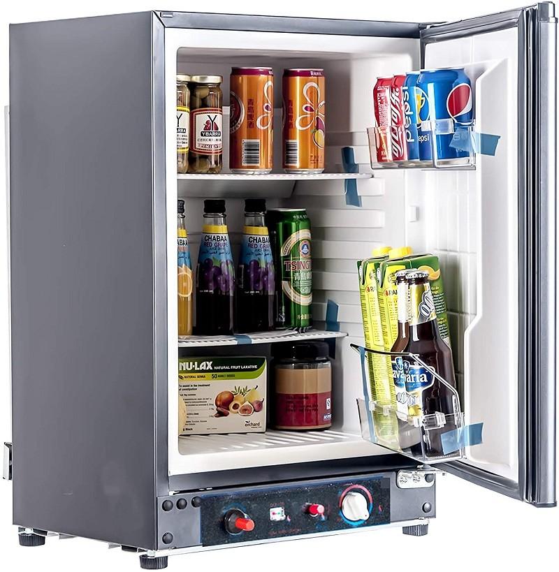 Test - Smad Réfrigérateur Camping 60L, Mini Réfrigérateur Silencieux